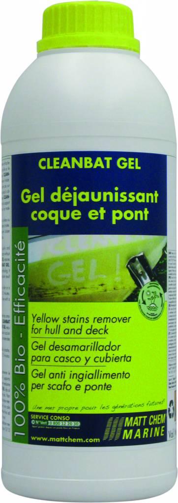 Matt Chem Marine CLEANBAT GEL Yellow stain remover