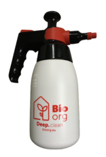 BioOrg DEEP Clean spray bottle empty