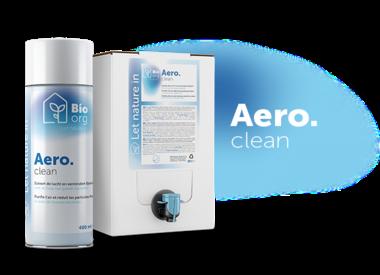 Aero. clean - Zuivert de lucht