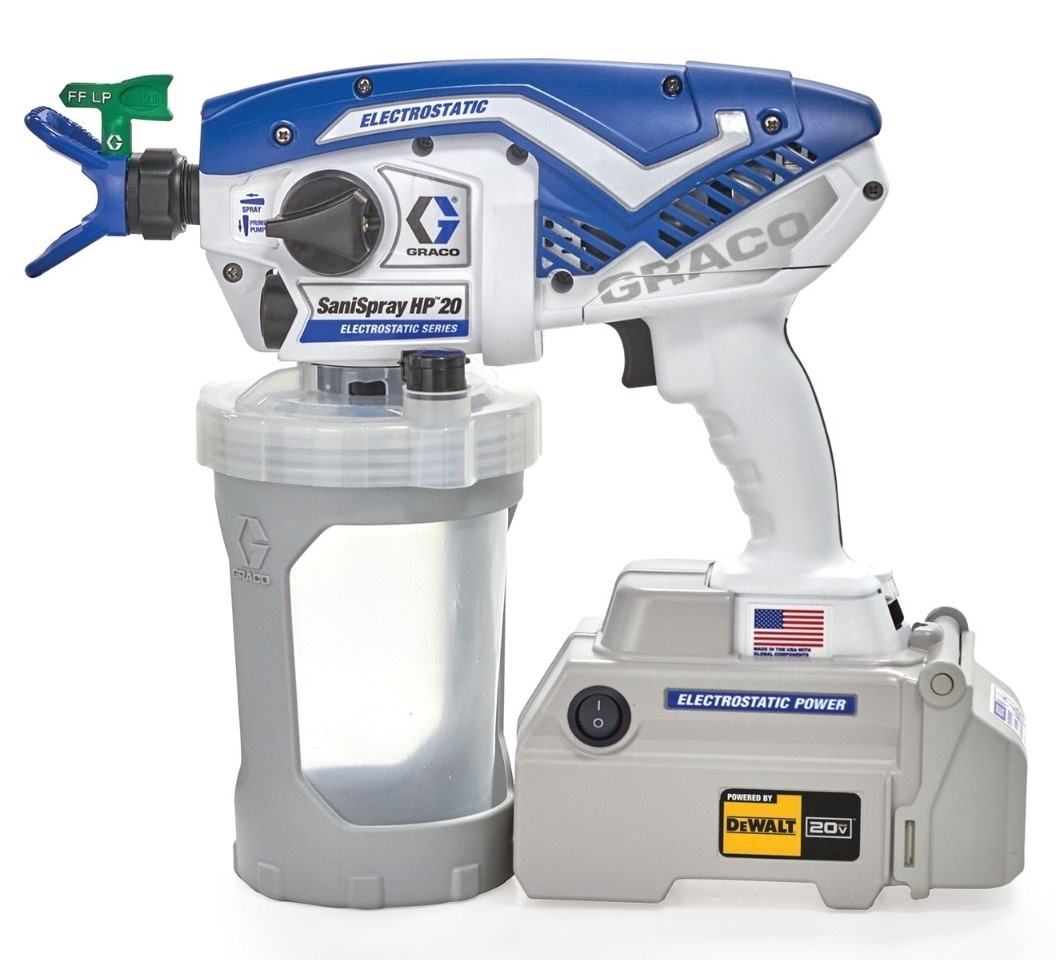 HP 20 electrostatic sprayer