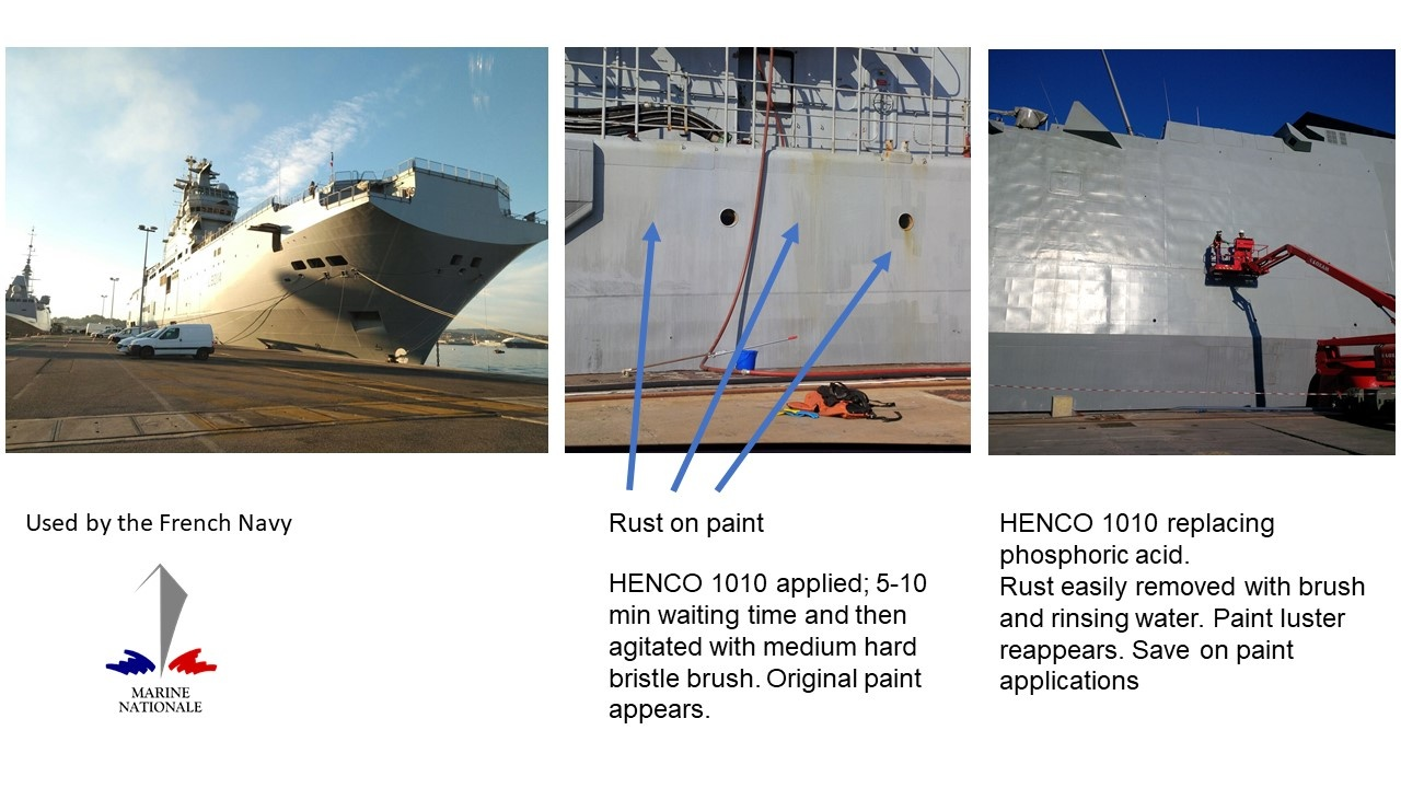 French navy Rust Remover 1010
