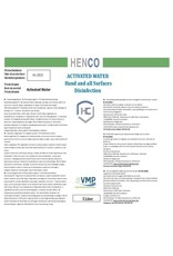 Henco Solutions Disinfectant - Activated Water or ECA Water (HOCI)