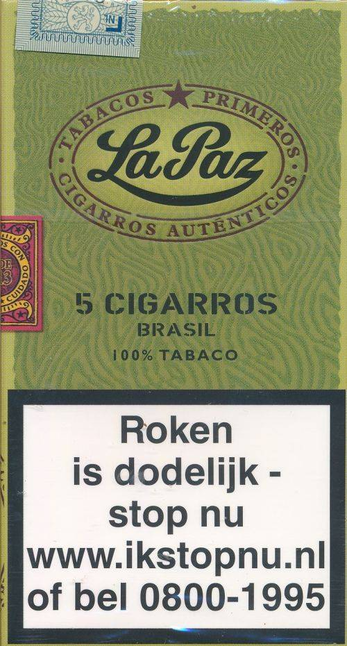 La Paz Wilde Cigarros Brasil 5 St.