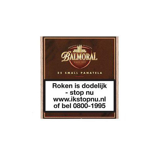 Balmoral Dominican Selection Small Panatella 25