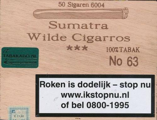 Sumatra Wilde 100 % No.63  50