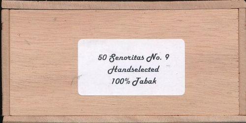 Miskleur Cortes Long Senoritas No.4  50 St.