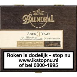 Balmoral Aged 3 Years Short Corona 25 stuks