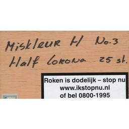 Miskleur H Half Corona No.3 25 st.