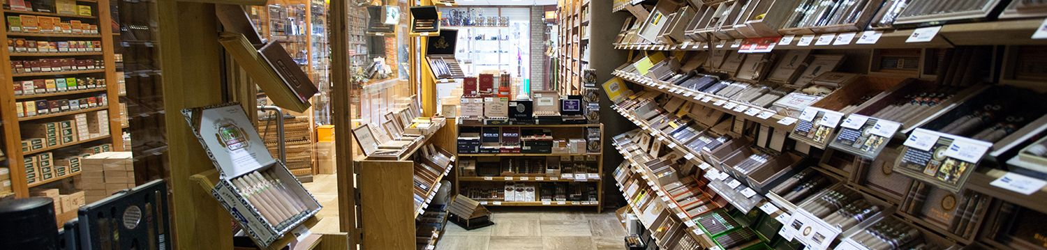 Onze walk in Humidor