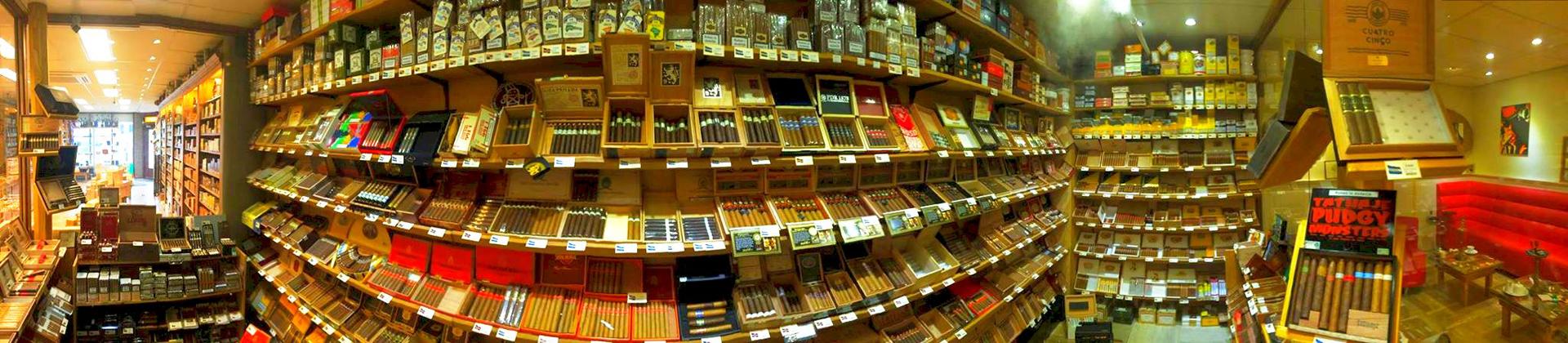 Humidor sigarenwinkel