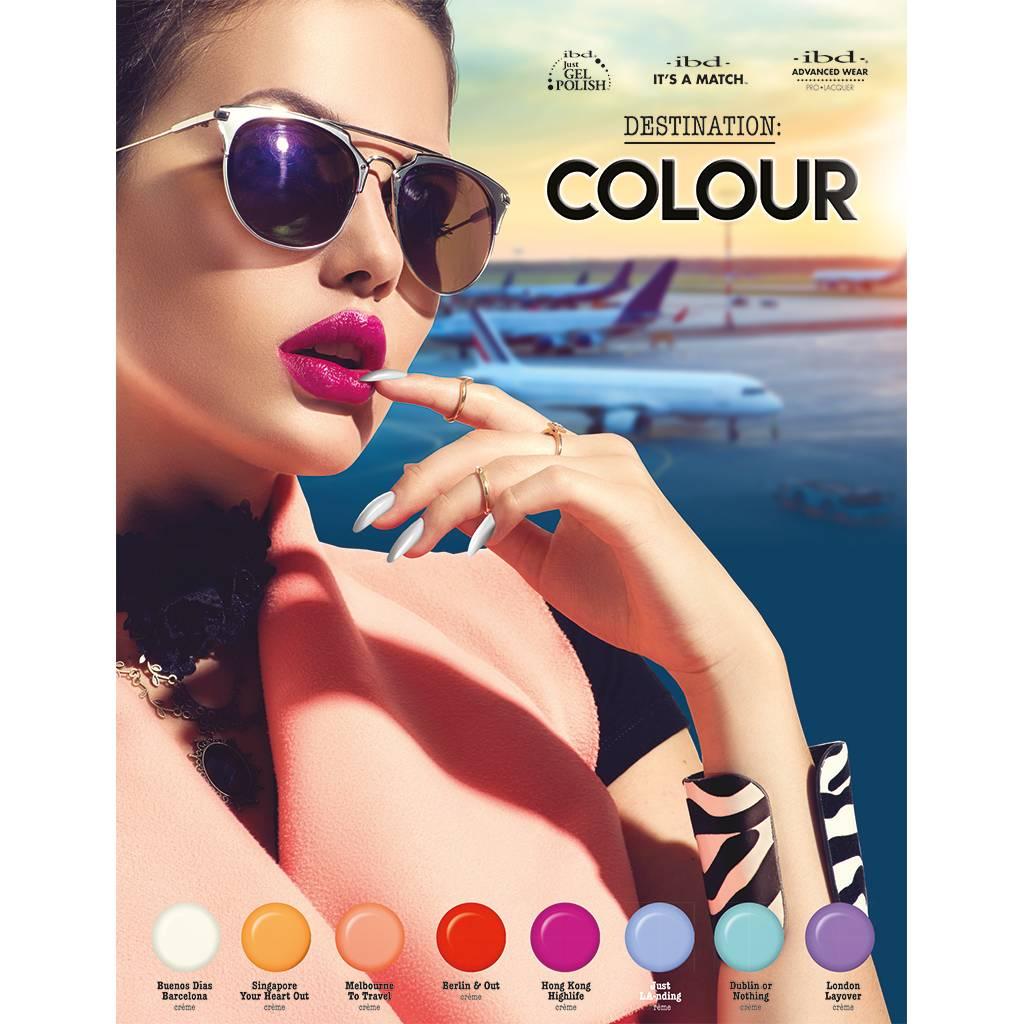 Ibd Ibd Just Gel Polish Melbourne To Travel - Destination Colour Summer Collection - 2017   On Sale