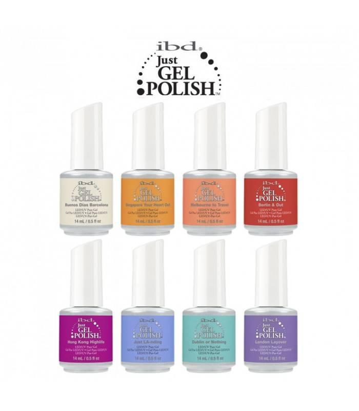 Ibd Ibd Just Gel Polish Just LA-nding - Destination Colour Summer Collection - 2017   On Sale