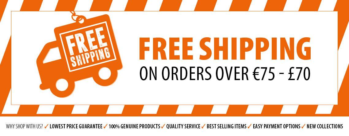 Free Shipping *