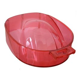 No Label Manicure Bowl Red