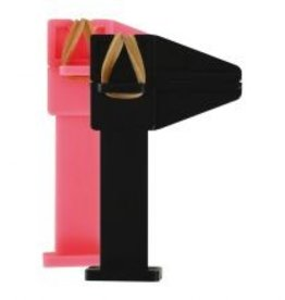 No Label Pinch Clamp Pink
