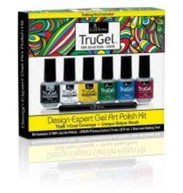 Ez Flow TruGel Design Expert Gel Art Polish Kit - Neon Collection 6 Colors