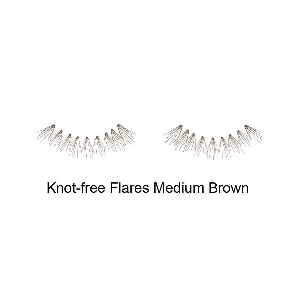 5d4e8582efb Ardell DuraLash Naturals Flare Short Brown Knotfree - Nail Discount