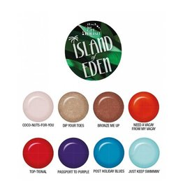 Ibd Just Gel Polish Island of Eden Collection Display (24PC. in 8PC Display)