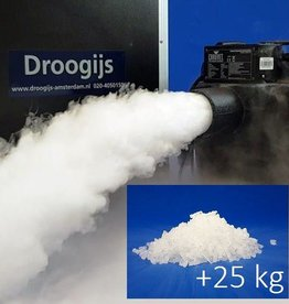 Chauvet Nimbus Rent Dry Ice Machine + 25 kg