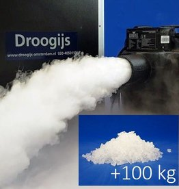 Chauvet Nimbus Rent Dry Ice Machine + 100 kg