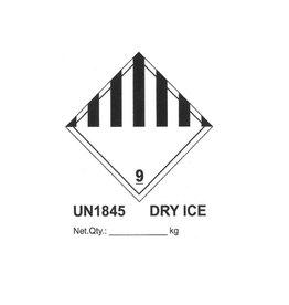 UN 1845 sticker