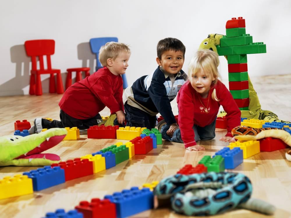 Créer une aire de jeux couverte