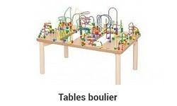 Table Boulier