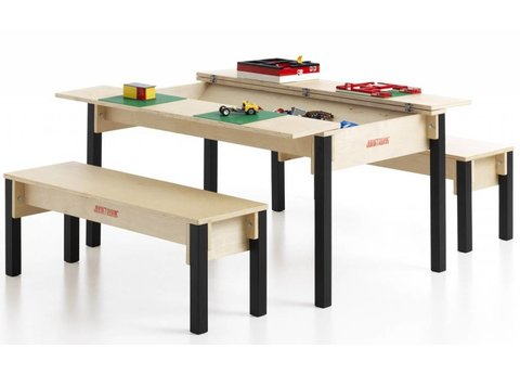 Table et bancs enfant