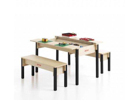 Table avec coffre