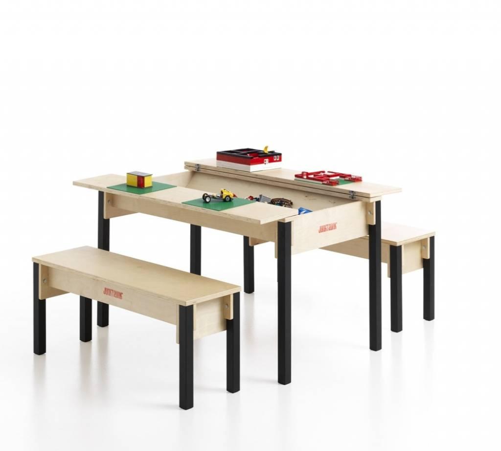 Meuble De Rangement Pour Garderie table avec coffre de rangement pour enfants