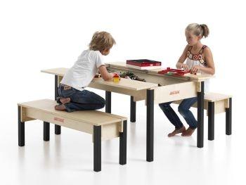Mobilier enfant design avec système de rangement ingénieux pour jouets