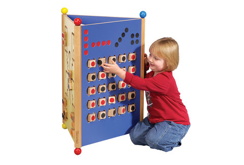 Triptyque jeux muraux