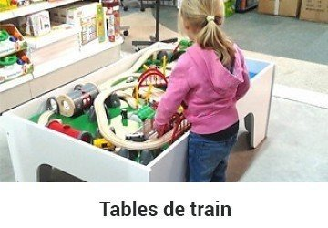 Table circuit train Brio pour enfants
