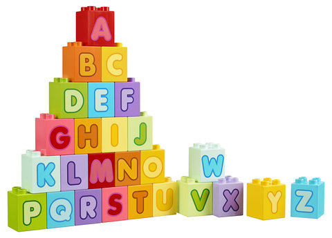 LEGO DUPLO Lettres