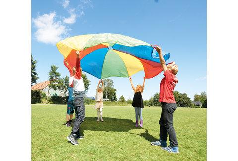 Parachute jeu coopératif