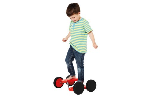 PedalGo 4 roues rouge