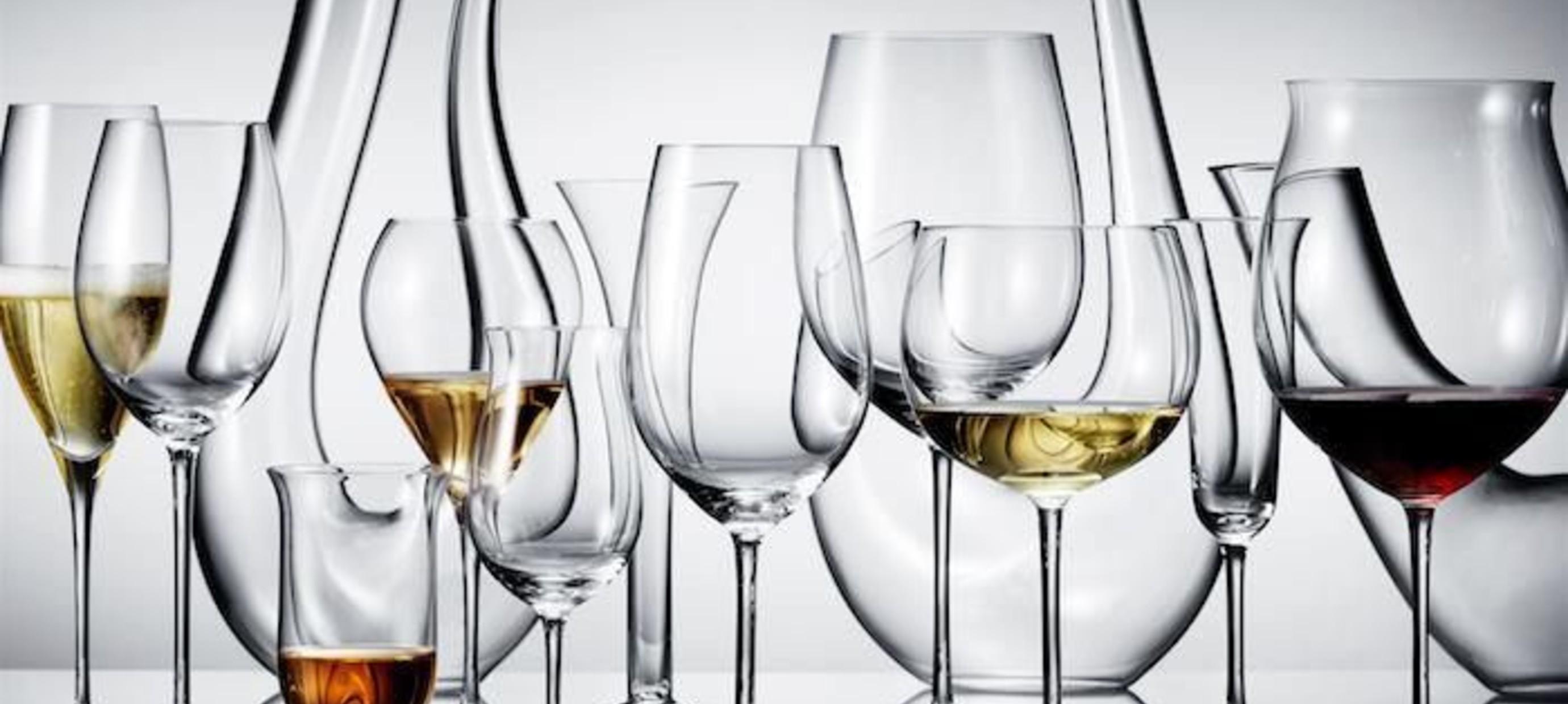 Het correcte glas kiezen!