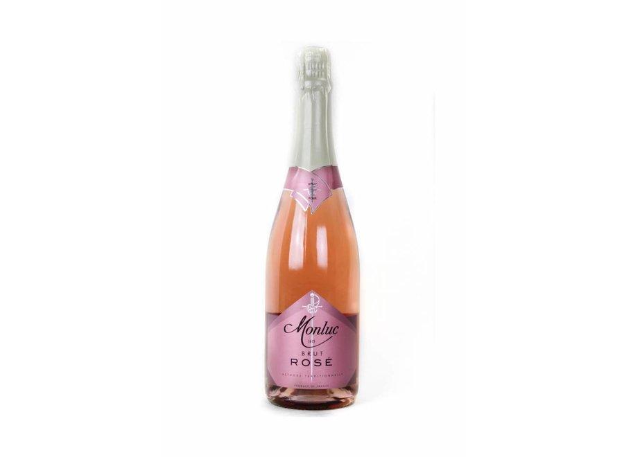 """Monluc Rosé Sauvage - Méthode Traditionelle """"Brut"""""""