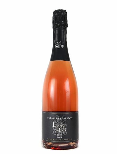"""Louis Sipp Louis Sipp - Crémant d'Alsace Rosé """"Brut"""""""