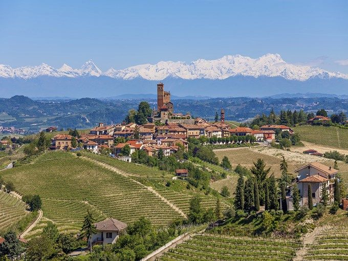Noord-Itaië produceert de helft van de totale Italiaanse wijnproductie.