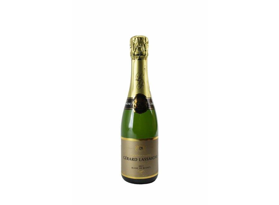 Champagne Gérard Lassaigne - Blanc de Blancs Brut (0,37 L)