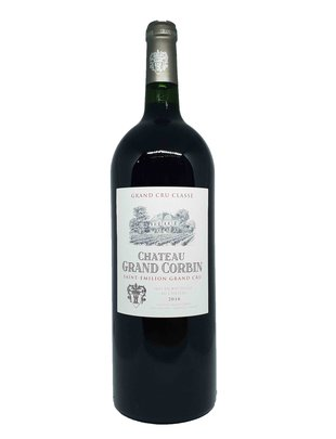 Château Grand Corbin Saint-Emilion Grand Cru Classé 2016 Magnum