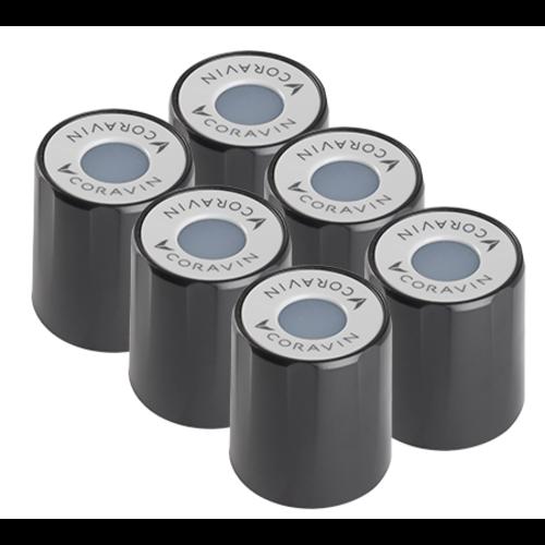 CORAVIN Standard Screw Caps (6 stuks)