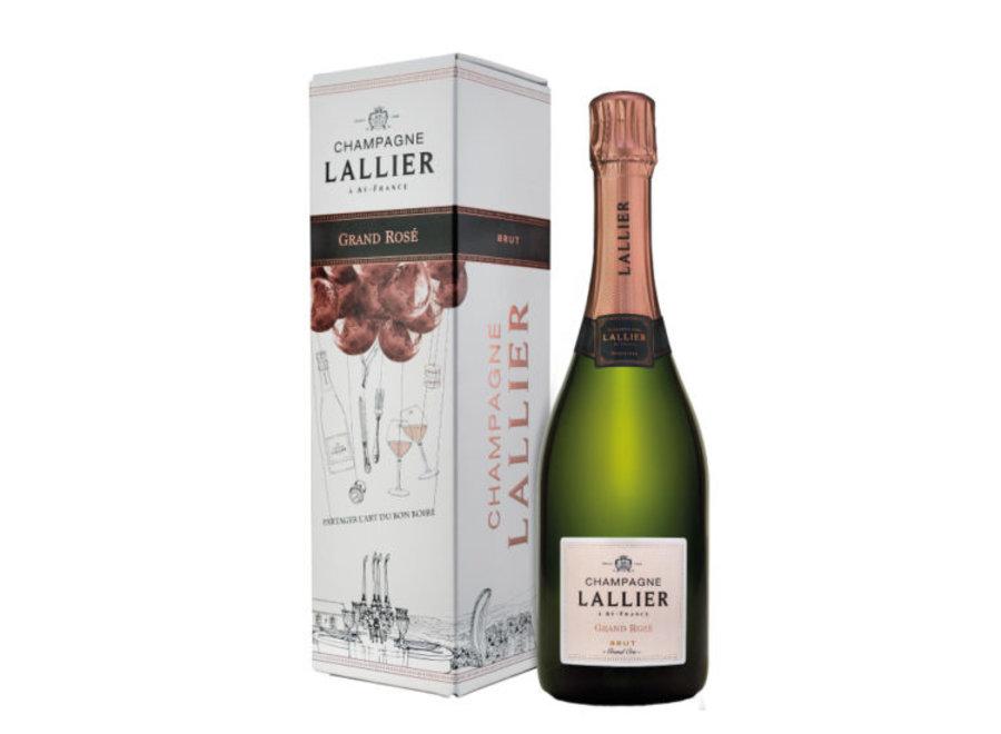 Champagne LALLIER Grand Rosé | Grand Cru (Magnum)