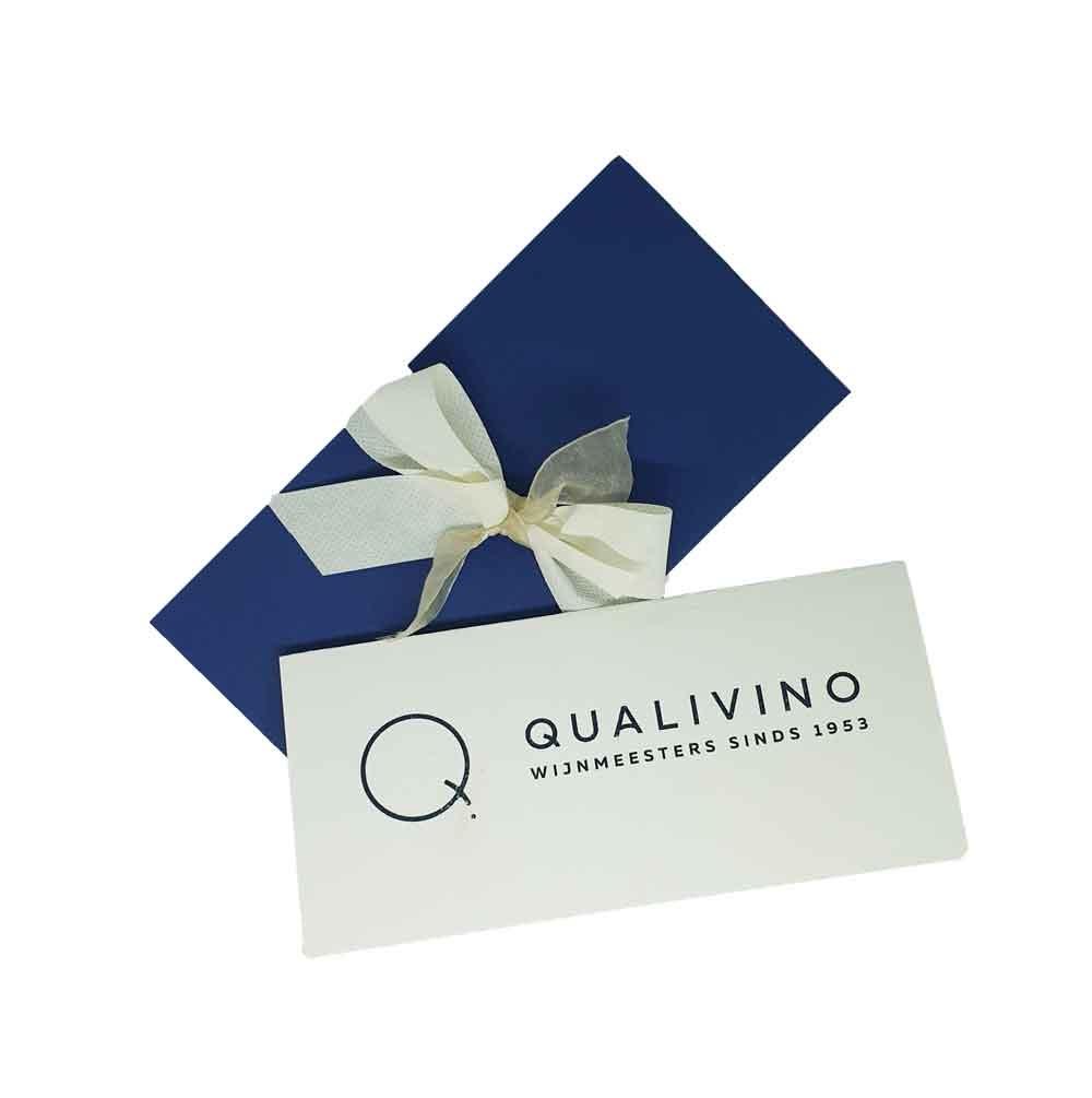 Wijnhandel Qualivino   Cadeaubon 50 euro - Wijnhandel QUALIVINO