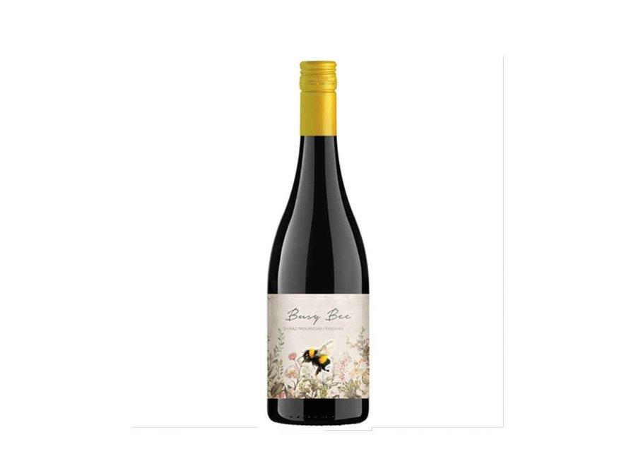 Busy Bee 'Shiraz/Mourvèdre/Viognier' 2019  | Swartland