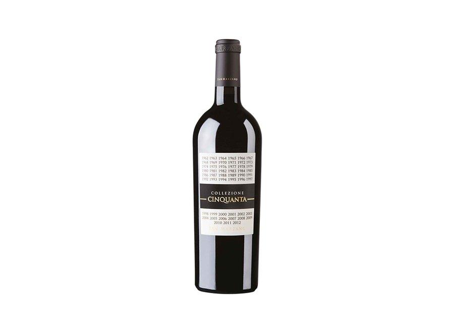 San Marzano 'Collezione Cinquante' 2016 | Vino Rosso d'Italia