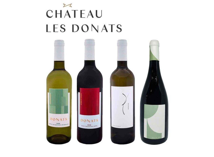 Online Masterclass 'Château Les Donats'  (4*0,75 Liter)