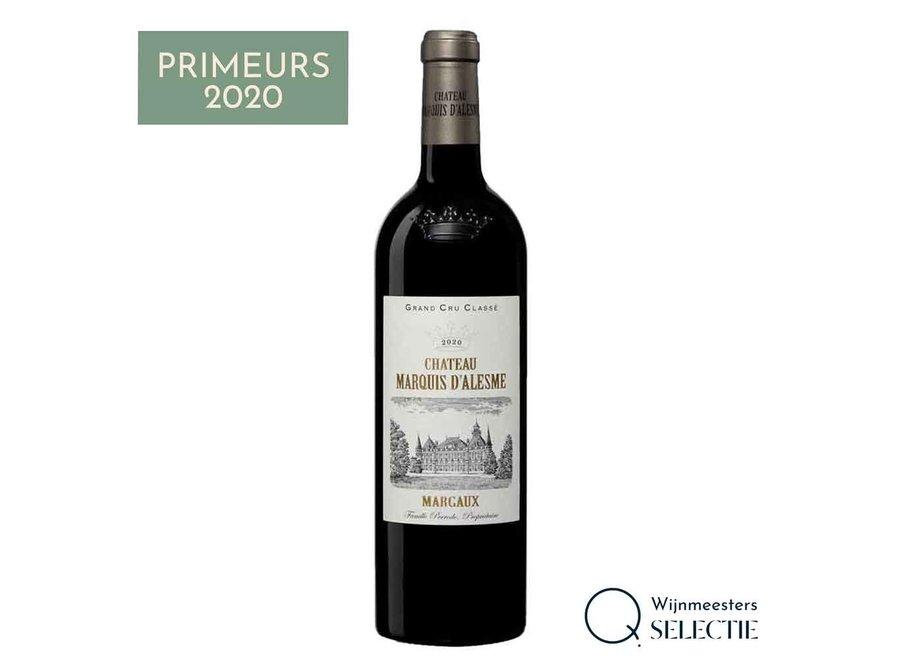 Château Marquis d'Alesme 2020   Margaux (6 flessen)