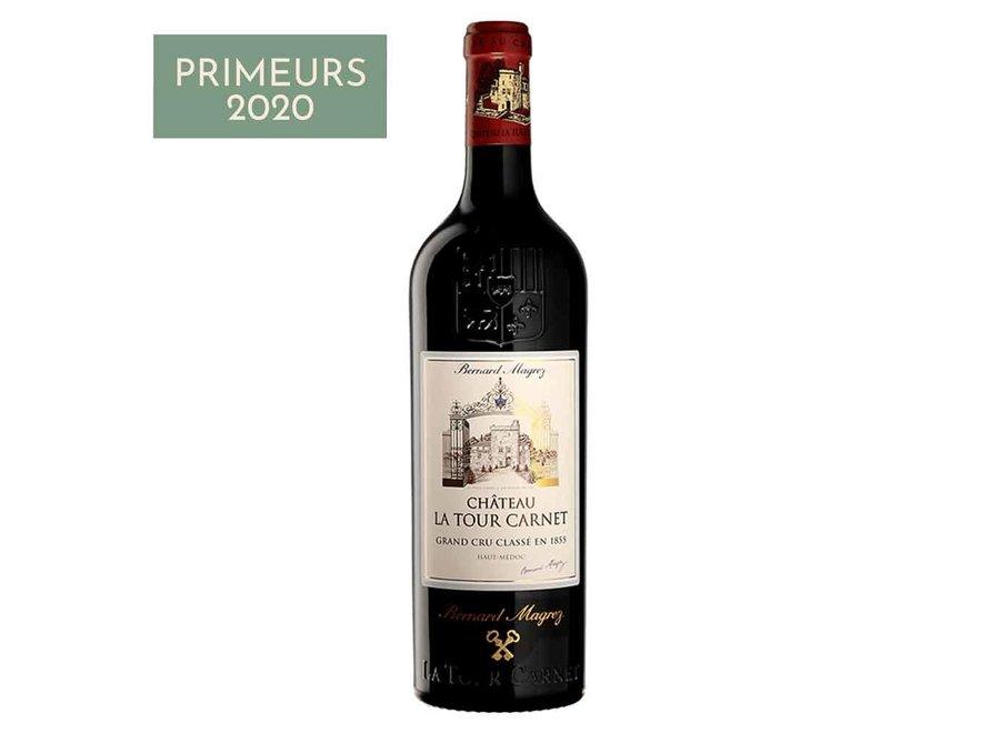 Château Tour Carnet 2020   Haut Médoc Grand Cru Classé (6 flessen)